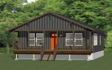 30x40 House -- 3 Bedroom 2 Bath -- 1,200 sq ft -- PDF Floor Plan -- Model 2G