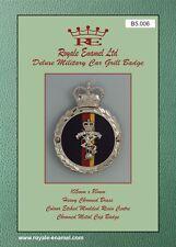 Royale Heavy Chromed Brass Car Badge - ROYAL ELECTRICAL MECHANICAL REME - B5.006