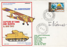 30th Anniv of the capture of Tunis and Bizerta. Signed  F. Korner, Luftwaffe Pi