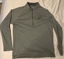 Under Armour Mens 1/4 zip xl Pullover Heatgear Golf