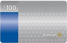 $100 Walmart Gift Card No fees or expiration date No cost to reload in stores.