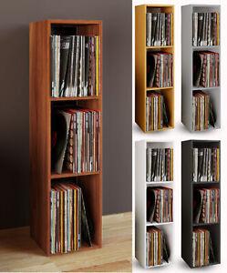 """VCM Schallplatten Regal Archiv LP Möbel Archivierung """"Platto 3fach"""""""