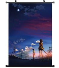 4021 Anime 5 Centimeters Per Second Byosoku 5 cm wall Poster Scroll