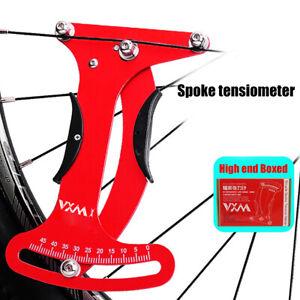 VXM Bicycle Spoke Tension Meter Aluminum Tensiometer Wheel Builder Tool
