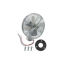 Electric Dash Mount Defogger Fan - Chrome - Vintage Look - 12 Volt - 2-Speed - 6