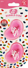 Jelly Belly Bubble Gum Car Air Freshener, Mini Vent 3D Gel - Duo Pack