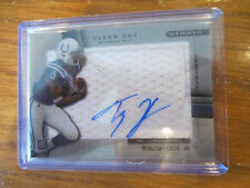 2012 TOPPS STRATA T.Y. HILTON CLEAR CUT ON CARD AUTOGRAPH - COLTS