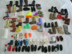 Vintage Doll Shoes, Boots Roller Blades ~ Barbie Ken Skipper Others SINGLES