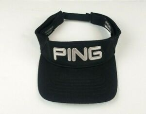 Ping 110 Flex Fit Golf Sun Visor Hat Cap Adjustable Black