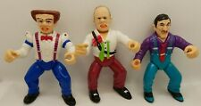 Dick Tracy Vintage Action Figure Lot of 3 by Playmates 1990 Flat Top Prune Face