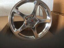 "Corvette polished thin spoke speedline wheels rims 17 x 8.5 "" for fits 01 02"