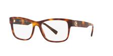Versace Eyeglasses VE3266  5217 55 Havana Optical Frame Clear Lens