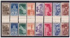 ITALIA 1946 - AVVENTO DELLA REPUBBLICA    SERIE  NUOVA  ** CON INTERSPAZI  PONTE