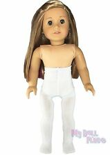 Tights White made for 18 inch American Girl Doll Clothes Winter Accessories