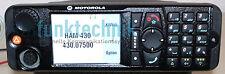 Motorola mtm800 Enhanced GPS 380-440mhz tetra ham con accesorios