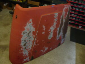88 Red Jeep Wrangler hood front YJ 87-95  original