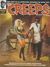 THE CREEPS MAGAZINE #17 - FRANKENSTEIN MONSTER CREEPY EERIE CARTOON HORROR BOOK