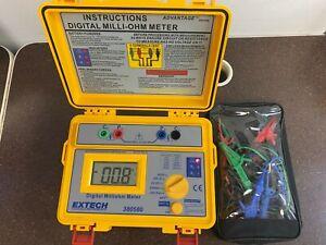 Extech Instruments Battery Powered Milliohm Meter 380580