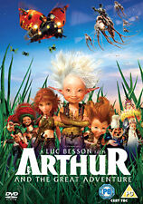 ARTHUR AND THE GREAT ADVENTURE - BLU-RAY - REGION B UK