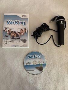 Nintendo Wii Spiel We Sing Mit Mikrofon