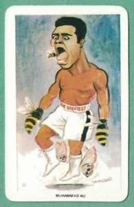 MUHAMMAD ALI 1979 VENORLANDUS #3 Boxing Card