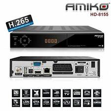 Amiko 8155, PVR,LAN 1CX,HDTV Sat Receiver IPTV 1x Kartenleser HDMI