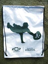 Oakland A's Athletics Drawstring Sling Backpack Sack Gym Tote Bag Baseball MLB
