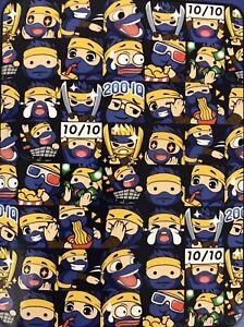 "Team Ninja Throw Blanket 46"" X 60"" Character Emoji Fortnite"