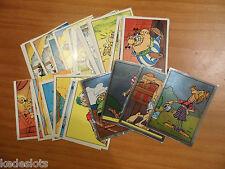 Lot de 6 stickers Panini Astérix 1987