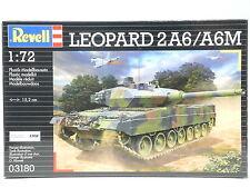Revell: Leopard 2 a6/a6m ejército alemán 1:72 - 03180
