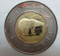 2001 CANADA TOONIE PROOF-LIKE TWO DOLLAR COIN