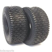 2 15X6.00-6 TURF LAWN MOWER TIRES HEAVY DUTY 4 PLY TWO NEW TIRES 15 600 6