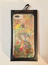 Cynthia Rowley Designer Case for iphone 6/7 Plus, Floral and Gold, New
