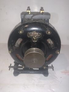 Antique 1907 Holtzet - Cabot Electric Co. Motor.  WORKS!!!