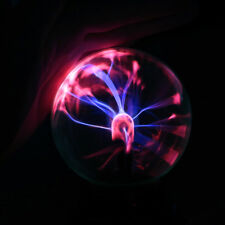 New Hot Magic USB Sphere Lightning Lamp Light Party Black Base Glass Plasma Ball