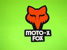 YZ KX KXF RM RMZ CR CRF 65 125 250 450 FOX RACING MOTO-X FOX MOTOCROSS STICKER