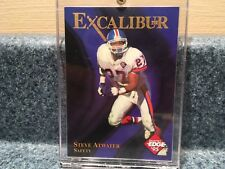 NEW 1995  COLLECTORS EDGE EXCALIBUR 22K GOLD STEVE ATWATER  #5 OF 25 NM-MT
