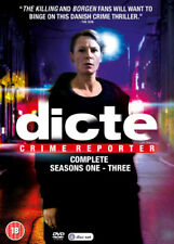 Dicte - Crime Reporter: The Complete Seasons 1-3 DVD (2018) Iben Hjejle