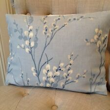 """12x16"""" Cushion Cover in Laura Ashley Pussy Willow Seaspray/Austen Off White"""