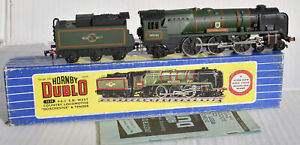 "HORNBY DUBLO 3 RAIL BOXED 4-6-2 WEST COUNTRY CLASS ""DORCHESTER"""