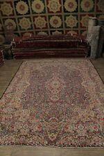 Fine Tree Of Life Antique Handmade Kerman Persian Rug Oriental Area Carpet 12X16
