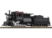 Piko G-Scale 38245 B&O Camelback 0-6-0 Locomotive W/Smoke/Sound/Lights MIB/New