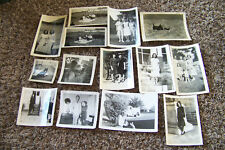 Lot of Vintage Photographs Mostly Circa 1940s-60s Dogs Women Pets Various 4