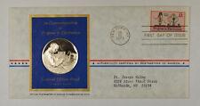 1973 Postmasters Of America Commemorative Silver Medal Progress In Eletronics