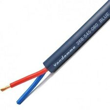 Van Damme Blue Series Studio Grade Speaker Cable 2 X 4.00mm - Sold by the metre