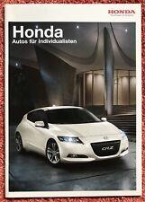 Original Honda Automobil Programm Katalog Prospekt Broschüre + Preisliste 2010