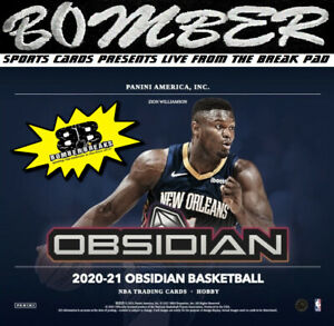 San Antonio Spurs 2020-21 Panini Obsidian Basketball Hobby 4-Box Break 1
