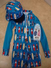 Toddler & Baby Boys' UV Protection Clothing One Piece Suite + Hat - Kids Size 3T