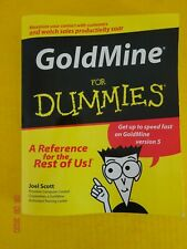 Goldmine for Dummies Version 5 - New Hard to Find Edition