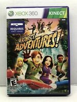 Kinect Adventures (Microsoft Xbox 360, 2010) Complete Tested Working